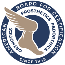 American Board Certification in Orthotics, Prosthetics, Pedorthics